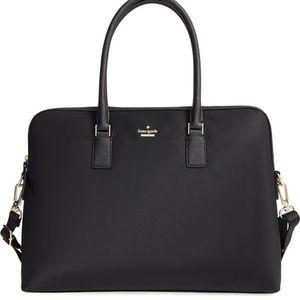 kate spade Bags - NWT Kate Spade Daveny Nylon and Leather Laptop Bag